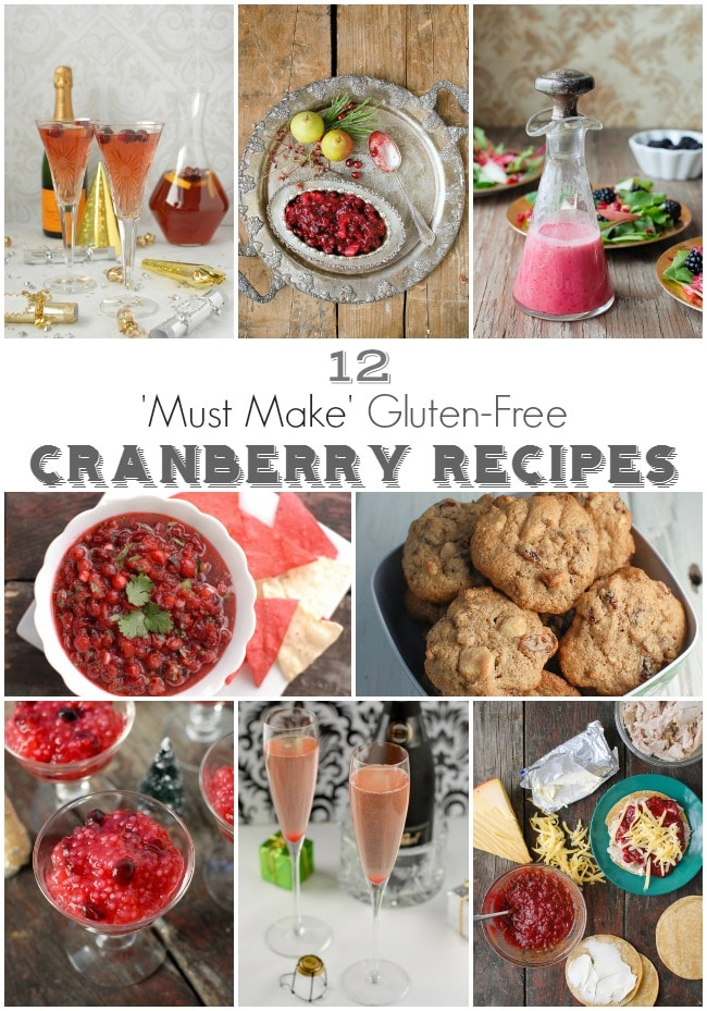 12 'Must Make' Gluten-Free Cranberry Recipes
