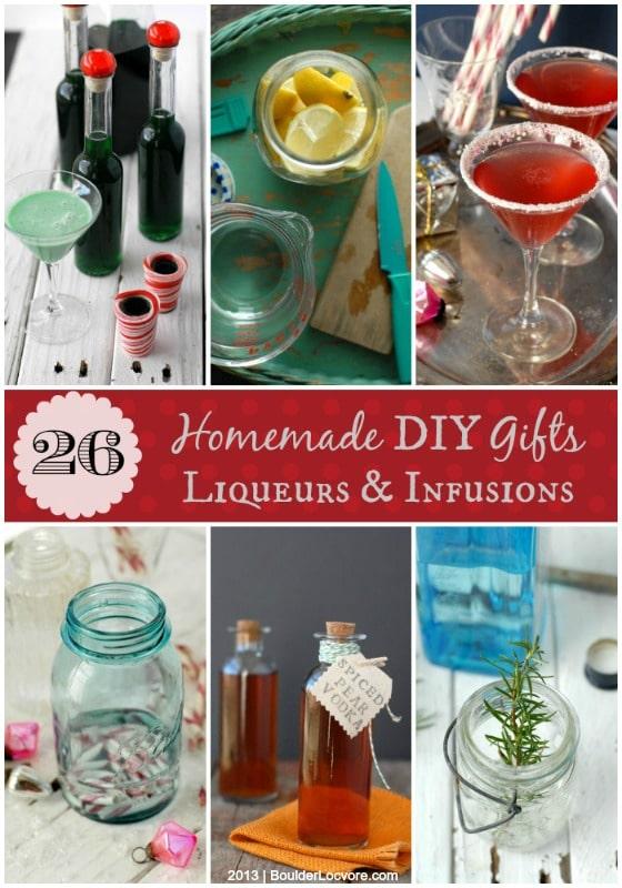 Homemade DIY 26 Infusion and Liqueur Recipes {gift ideas} 2013 | BoulderLocavore.com