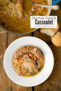 Shortcut French Cassoulet title image