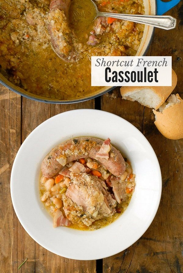 White Bean and Sausage Cassoulet