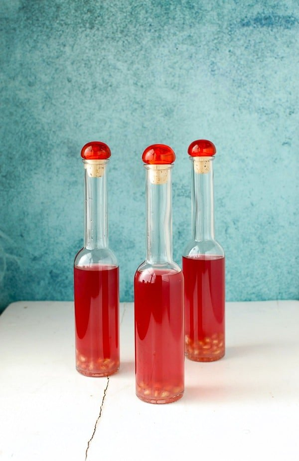 DIY Pomegranate Lime Vodka #infusion BoulderLocavore.com