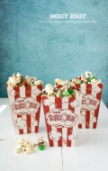 Holly Jolly Chocolate-Peppermint Popcorn Treat Mix