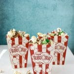 Holly Jolly Chocolate-Peppermint Popcorn Treat Mix & Giveaway!