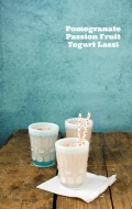 Pomegranate Passion Fruit Yogurt Lassi