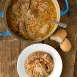 Shortcut French Cassoulet and Le Creuset French Oven - BoulderLocavore.com