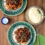 Spicy Sweet Potato Noodles in Garlic-Cinnamon Brown Butter