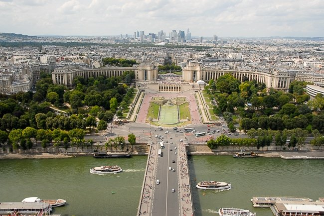 The Museum of Man from the Eiffel Tower - BoulderLocavore.com