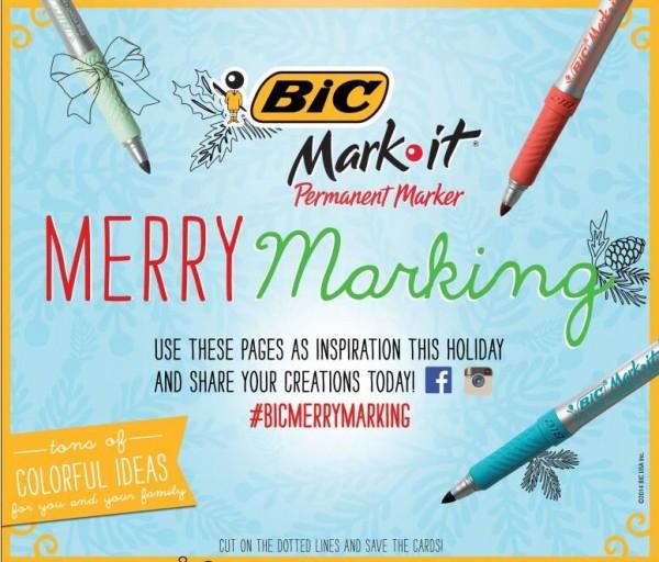 BIC Merry Marking Idea Book Holidays | BoulderLocavore.com