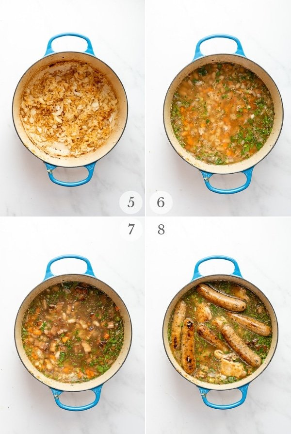 shortuct french cassoulet steps 5-8