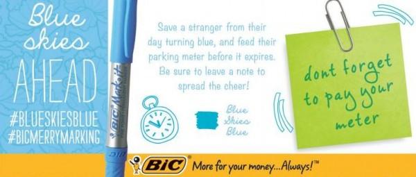 Bic Merry Marking Good Deed | BoulderLocavore.com