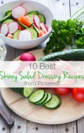 10 Best Skinny Salad Dressing Recipes from Pinterest