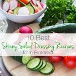 10 Best Skinny Salad Dressing Recipes from Pinterest