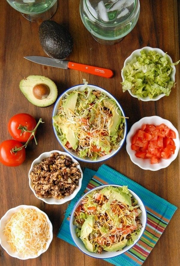 ... .com/lean-turkey-black-bean-quinoa-chipotle-burrito-bowls