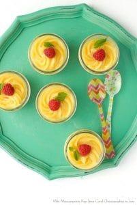 Mini Mascarpone Key Lime Curd Cheesecakes in Jars - BoulderLocavore.com