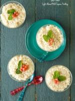 Slow Cooker Light Almond Milk Tapioca Pudding - BoulderLocavore.com