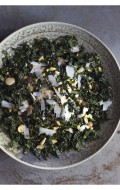 Smoky Kale Salad with Toasted Almonds and Egg & Brassicas Cookbook/Giveaway