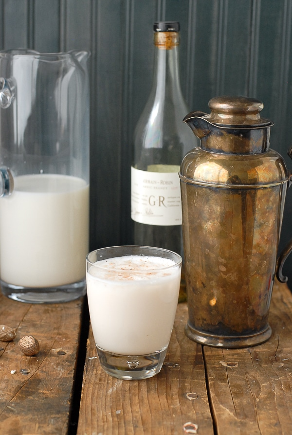 Brandy Milk Punch. A silky Brunch cocktail - BoulderLocavore.com
