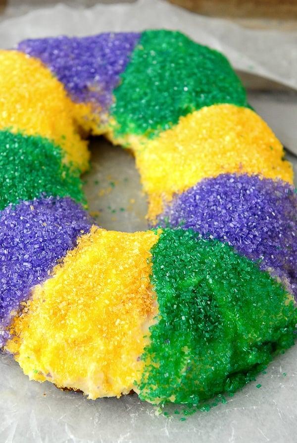 Gluten-Free King Cake for Mardi Gras - BoulderLocavore.com