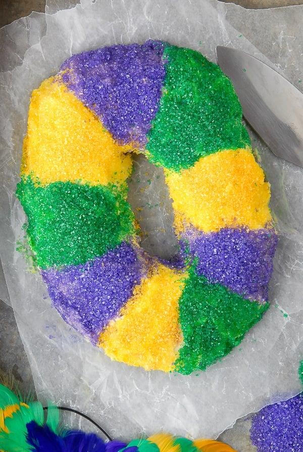King Cake for Mardi Gras - BoulderLocavore.com