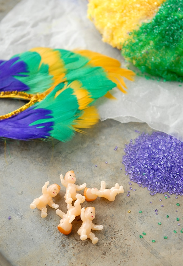 King Cake Mardi Gras Baby Meaning