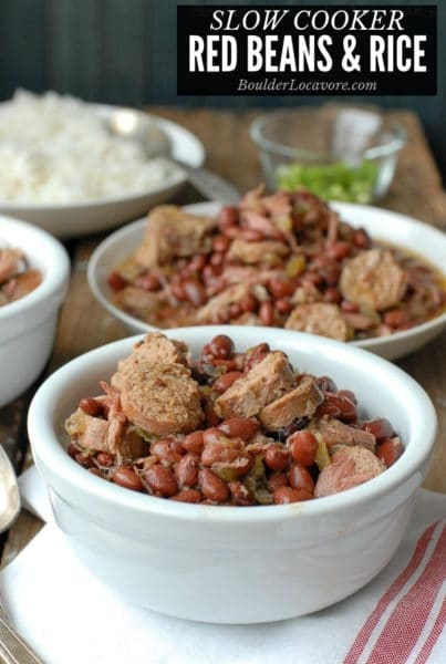 Slow Cooker Red Beans and Rice title image