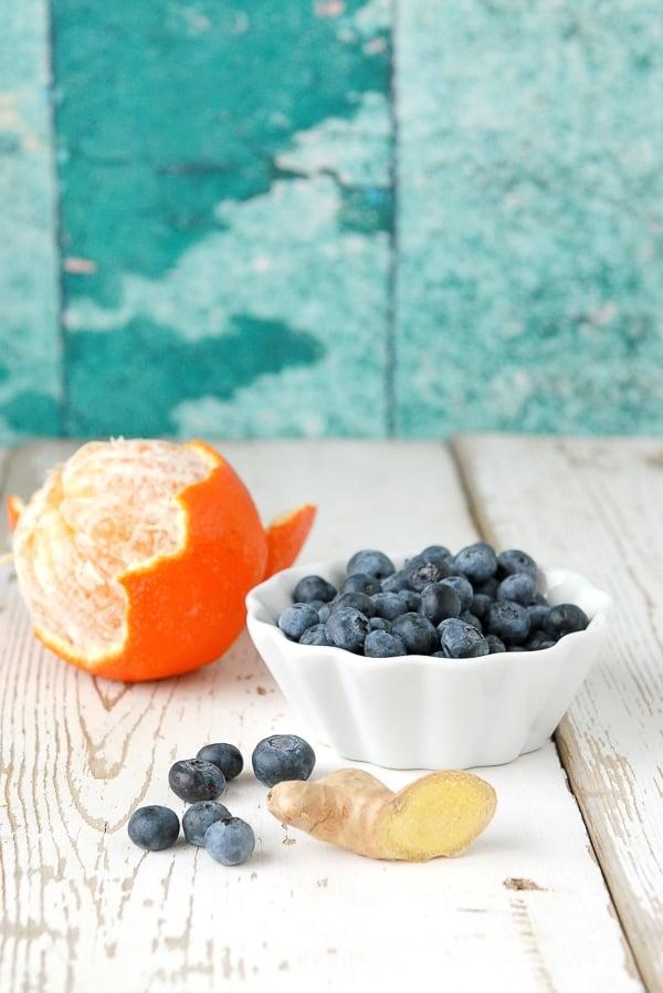 Antioxidant blueberries, tangelo and ginger - BoulderLocavore.com