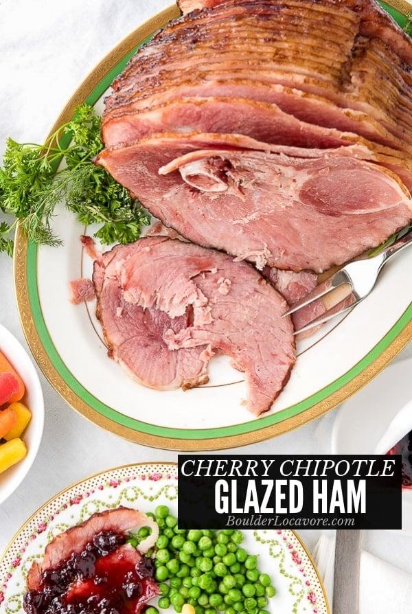 Cherry Chipotle Glazed Ham title image