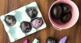 DIY Chalkboard Easter Eggs - BoulderLocavore.com
