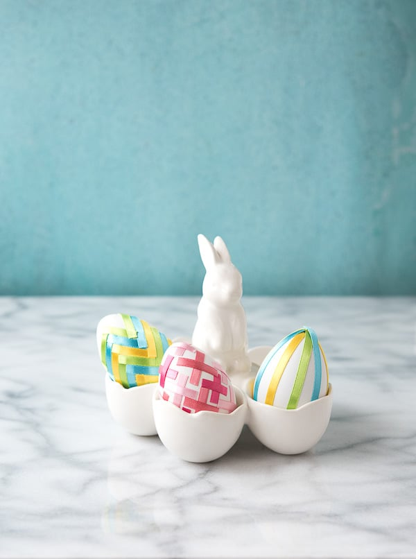 DIY Satin Ribbon Easter Eggs - BoulderLocavore.com