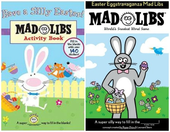 Easter Madlibs for Toddlers and Kids | BoulderLocavore.com