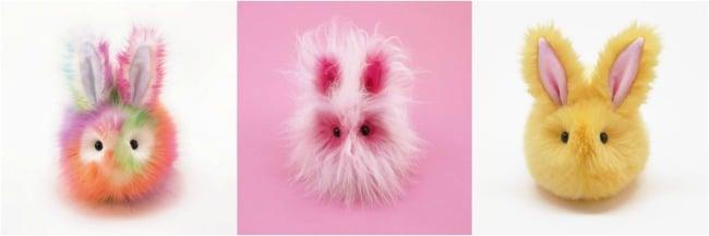 Handmade Easter Bunnies from Fuzziggles Etsy |BoulderLocavore.com