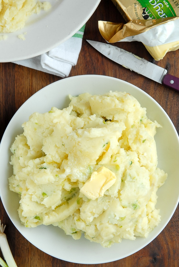 Irish Potato Champ  - BoulderLocavore.com