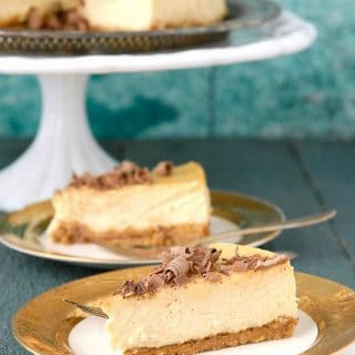 Irish Whiskey and Baileys Cheesecake - BoulderLocavore.com
