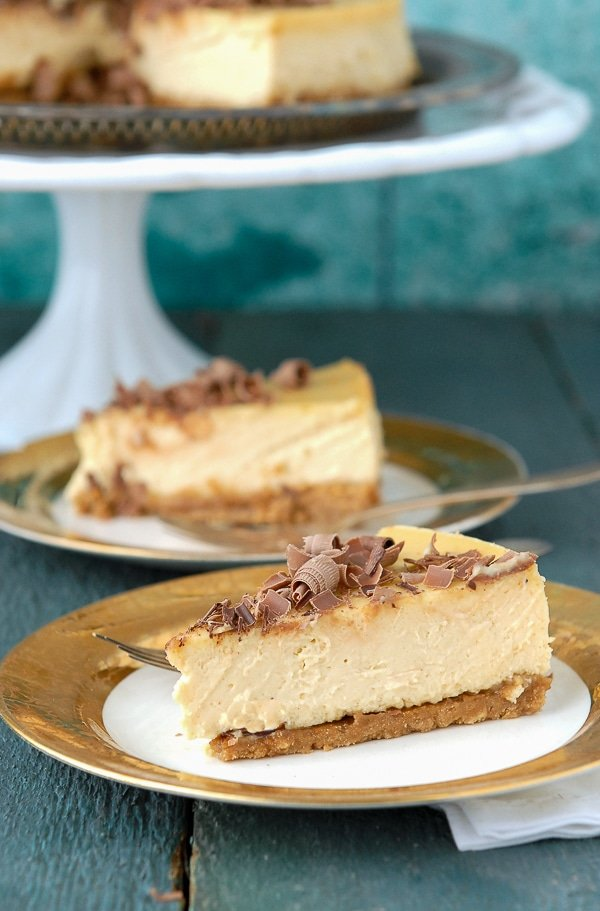 The Best Irish Whiskey and Baileys Cheesecake - BoulderLocavore.com