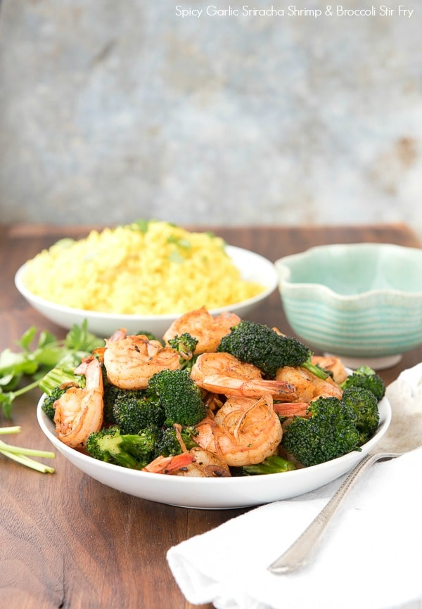 Spicy Garlic Sriracha Shrimp and Broccoli Stir Fry - BoulderLocavore ...