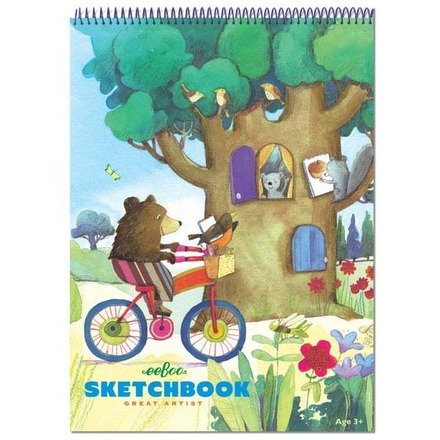 Whimiscal Sketchbooks and Art Supplies from eeBoo.com | BoulderLocavore.com