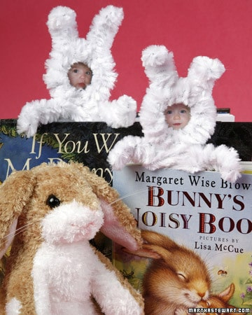 DIY Chenile Bunny Bookmarks for Easter | BoulderLocavore.com