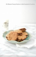 30-Minute Peanut Butter and Jelly Sandwich Cookies