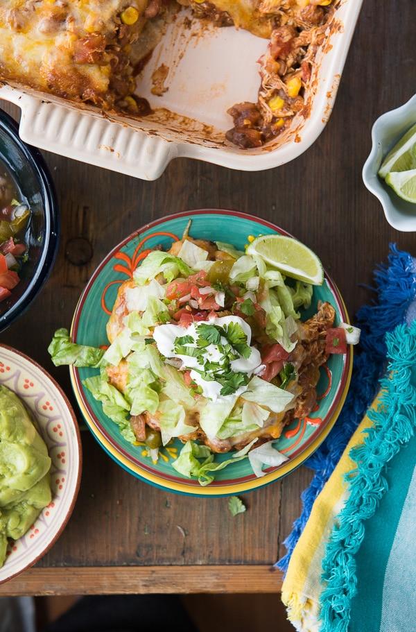 Easy Mexican Chicken Casserole - BoulderLocavore.com
