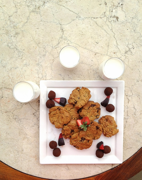 Gluten Free Peanut Butter Chocolate Chip Cookies - Four Seasons Santa Fe - BoulderLocavore.com
