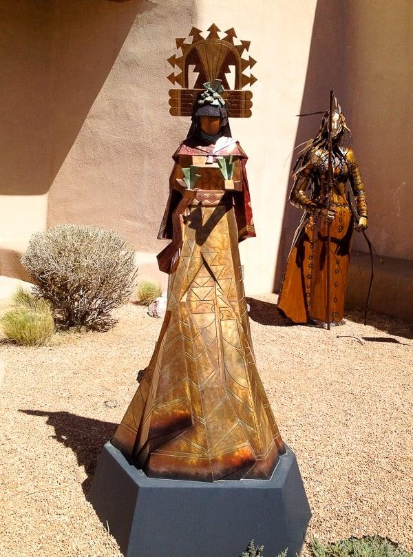 Native American Sculpture - Museum Hill Santa Fe - BoulderLocavore.com
