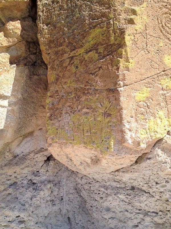 etroglyphs Tsankawi Trail Bandelier Santa Fe - BoulderLocavore.com