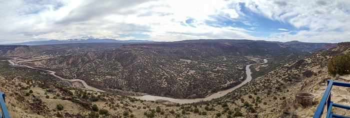 Rio Grande River - White Rock Overlook - BoulderLocavore.com