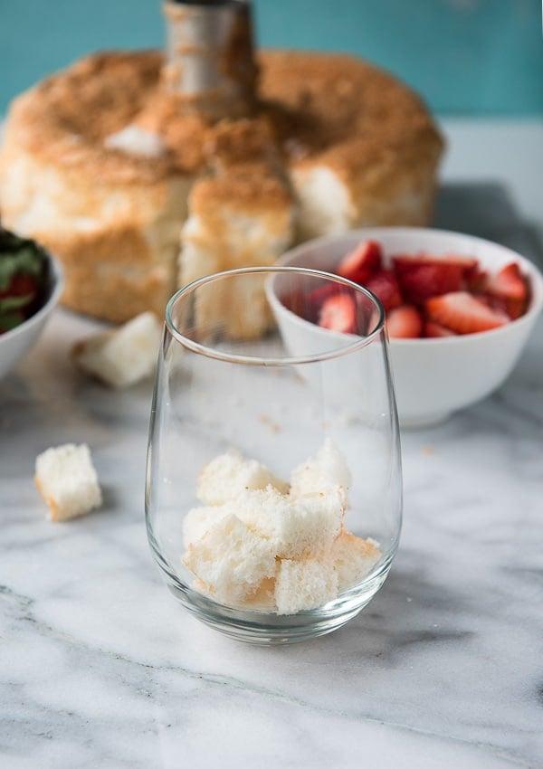 Strawberry Lemon Custard Trifle - Angel Food Cake - BoulderLocavore.com
