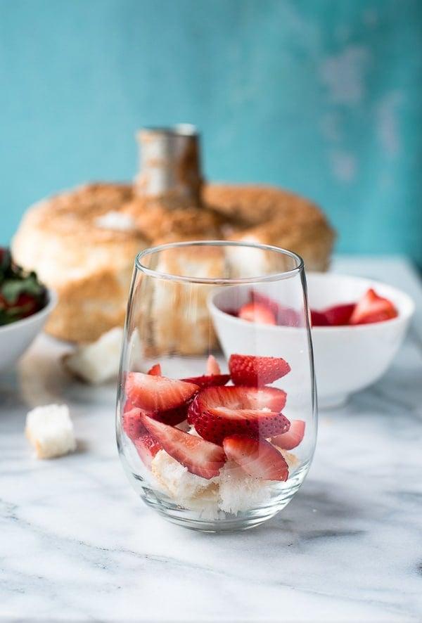 Strawberry Lemon Custard Trifle - Layers - BoulderLocavore.com