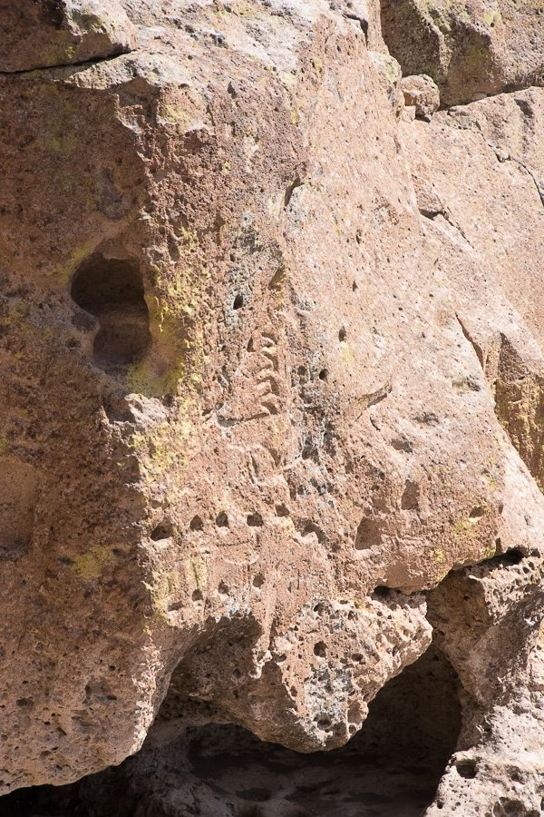 Tsankawi Bandelier National Monument petroglyphs Santa Fe - BoulderLocavore.com