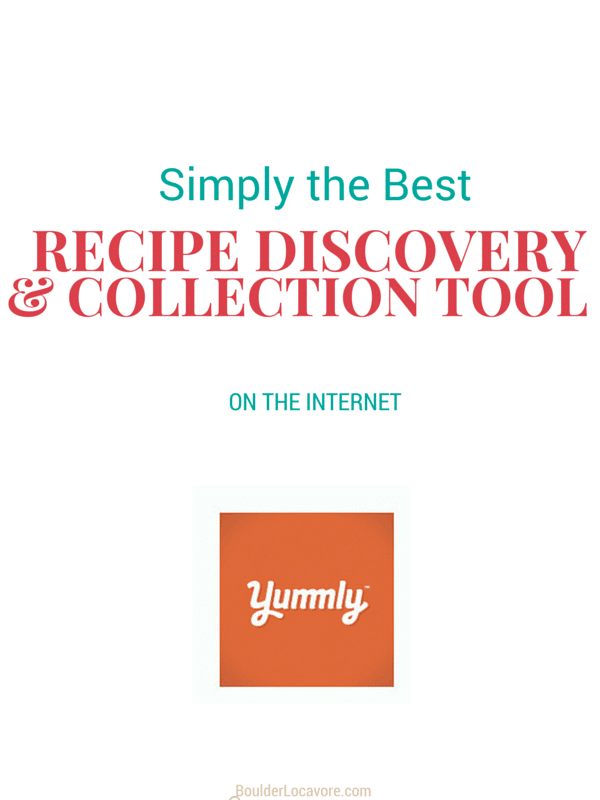 Yummly: the Best Recipe Discovery and Collection Tool on the Internet