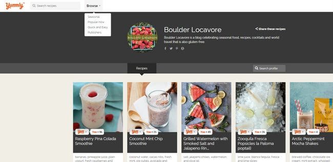 Boulder Locavore on Yummly