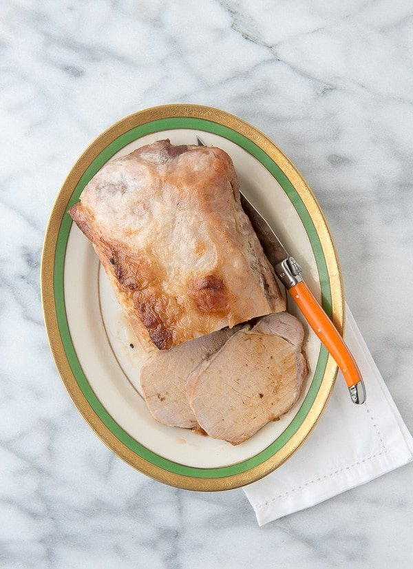 Brined Boneless Pork Loin Roast