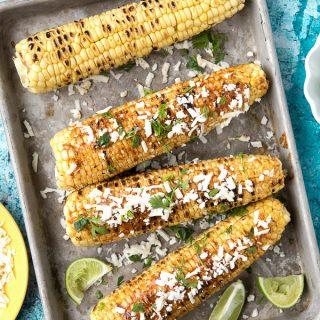 Grilled Mexican Corn - BoulderLocavore.com
